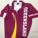 Queensland Supporters Shirt Front View